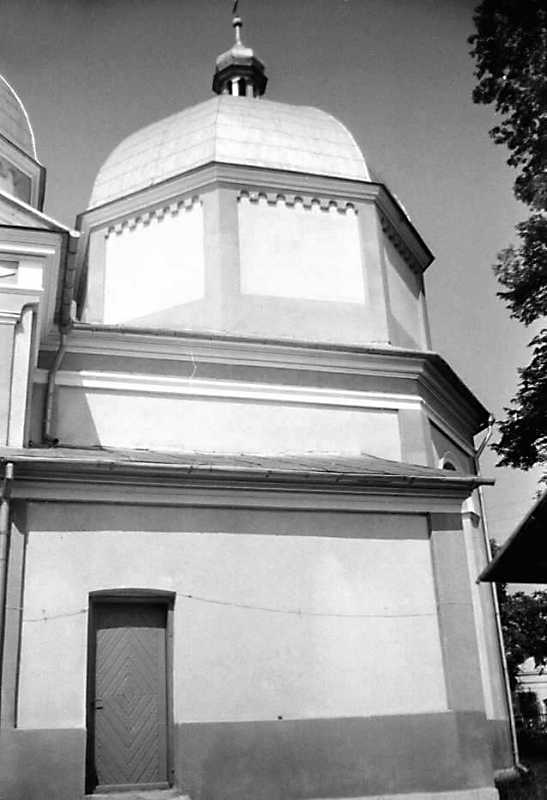 1990 р. Вівтар. Вигляд з півдня
