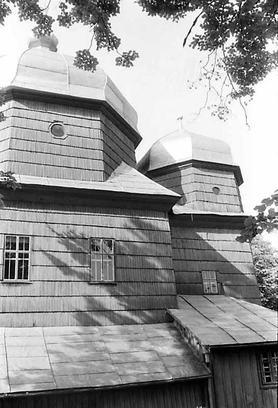 1990 р. Нава і вівтар. Вигляд з півдня