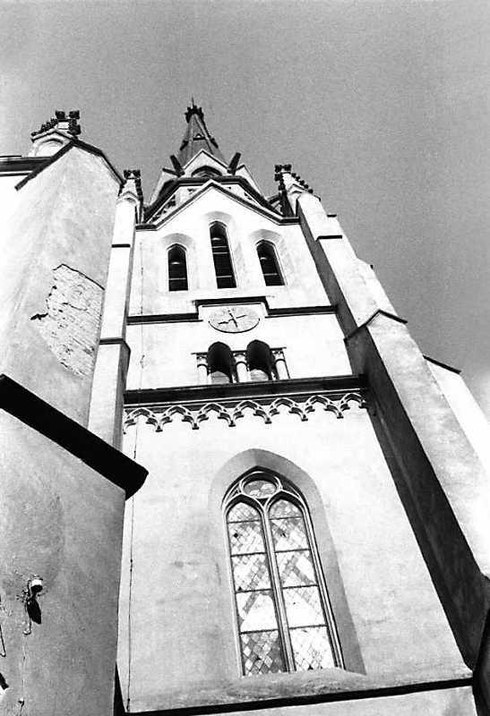 1991 р. Верх башти. Вигляд з позиції С4