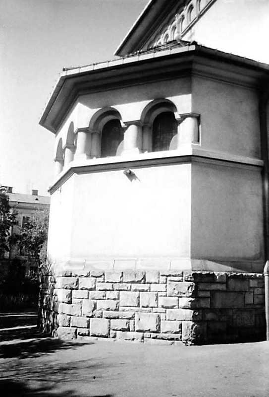 1991 р. Вівтар. Вигляд з позиції А1