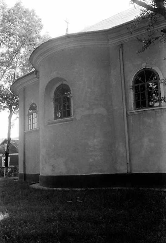 1991 р. Бічний фасад. Вигляд з позиції…