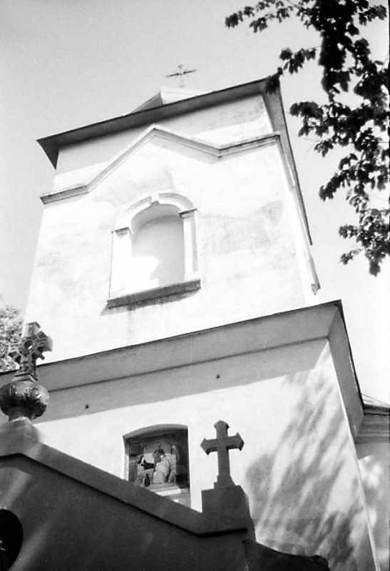 1991 р. Верх башти. Вигляд з позиції С3