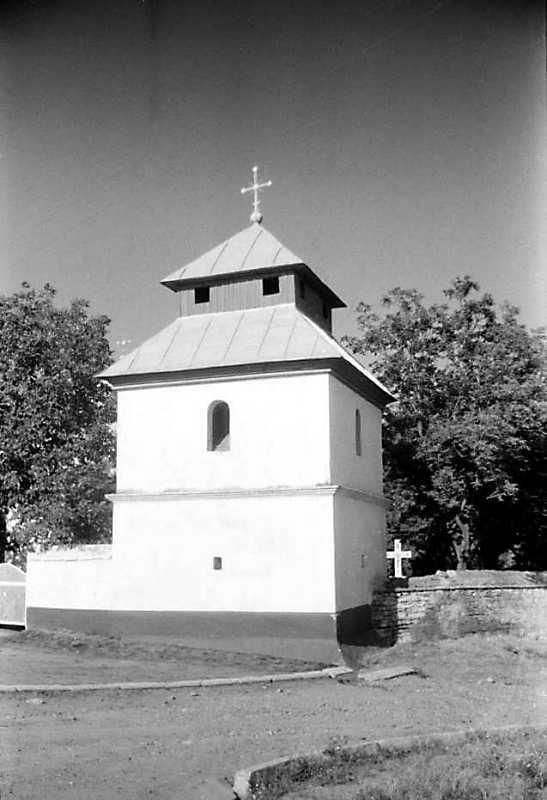 1991 р. Дзвіниця. Вигляд із заходу