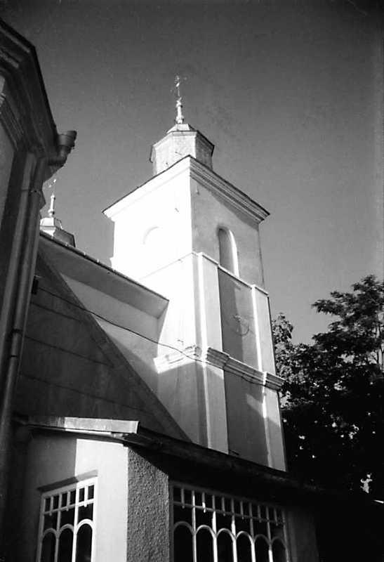 1991 р. Башта головного фасаду. Вигляд…