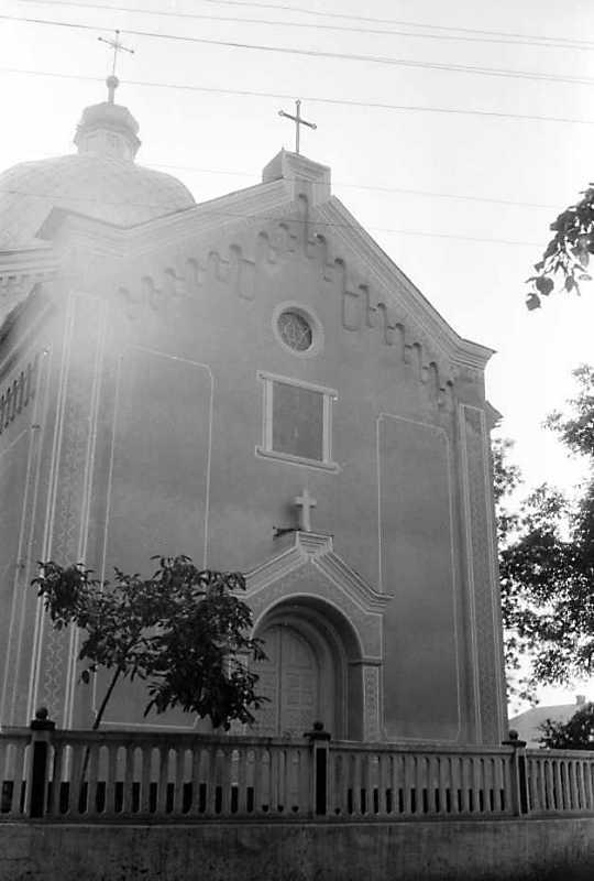 1991 р. Головний фасад. Вигляд з…