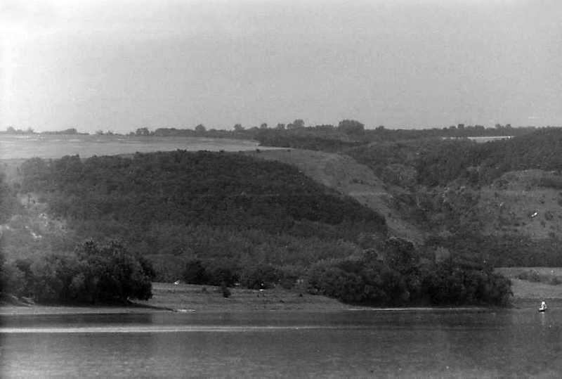 1991 р. Дністер біля с. Устя