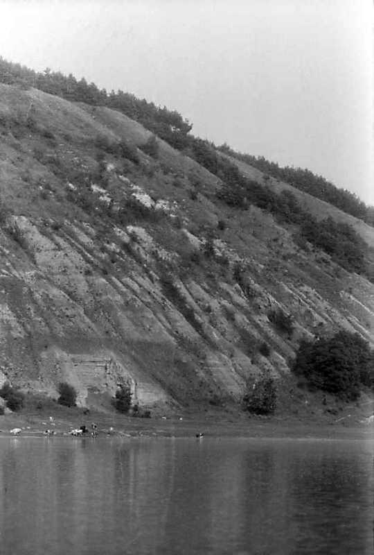 1991 р. Крутосхил берега Дністра біля…