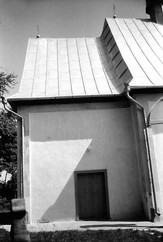 1991 р. Бабинець. Вигляд з півдня