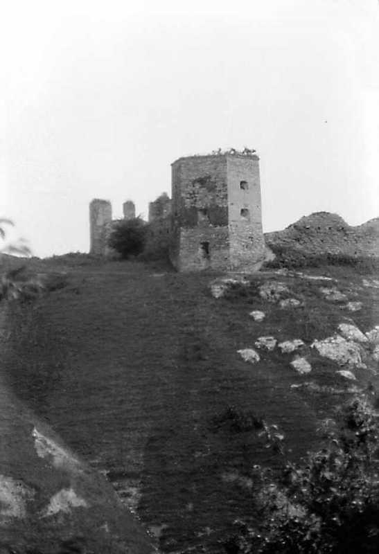 1991 р. Північна і західна башти.…