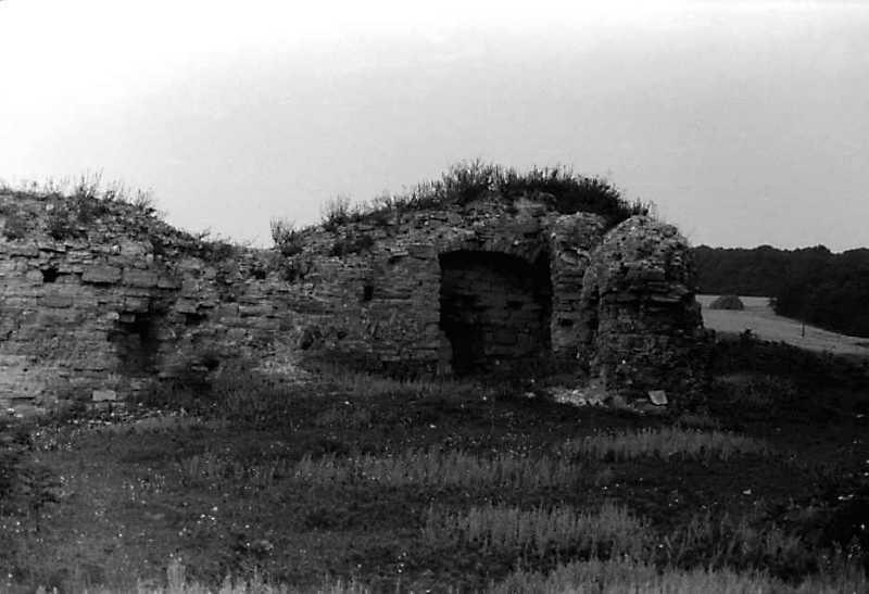 Фрагмент північно-західного муру