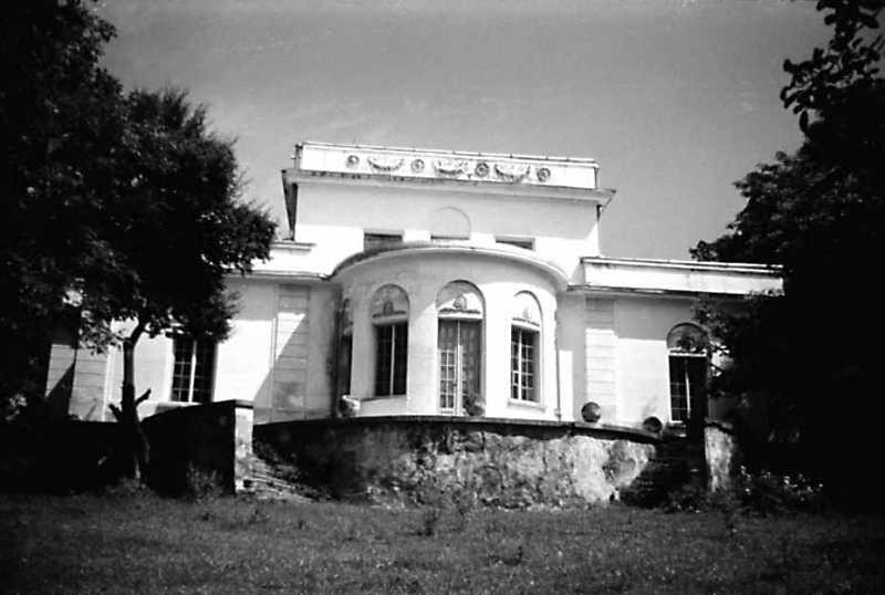 1991 р. Парковий фасад (звернений до…
