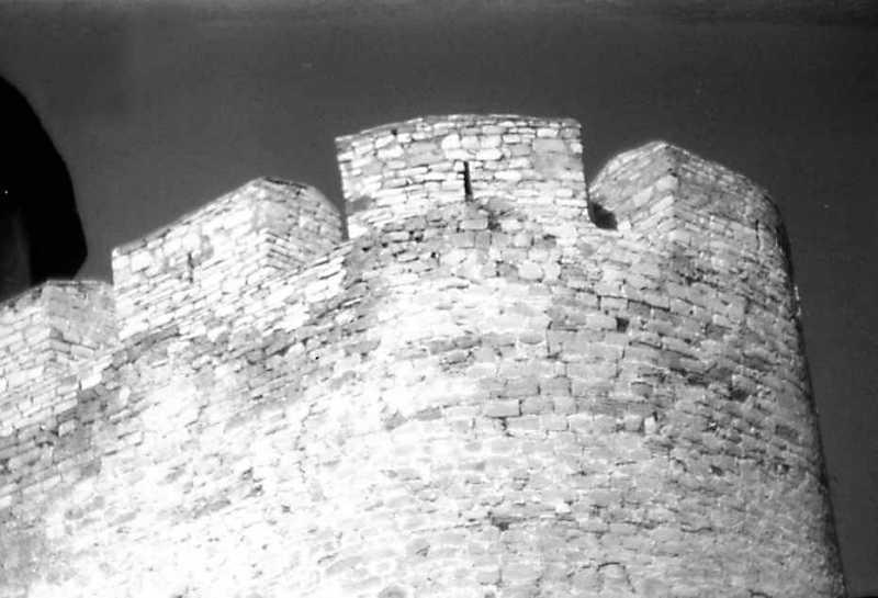 1991 р. Зубці південно-західного рогу. Вигляд з південного заходу
