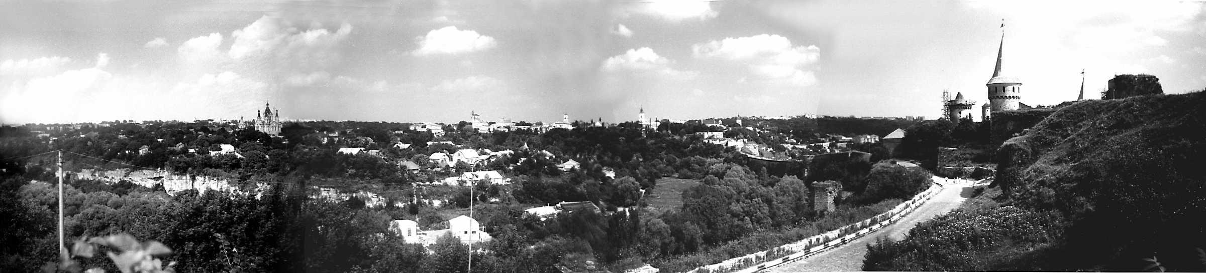 1991 р. Панорама Старого міста з…