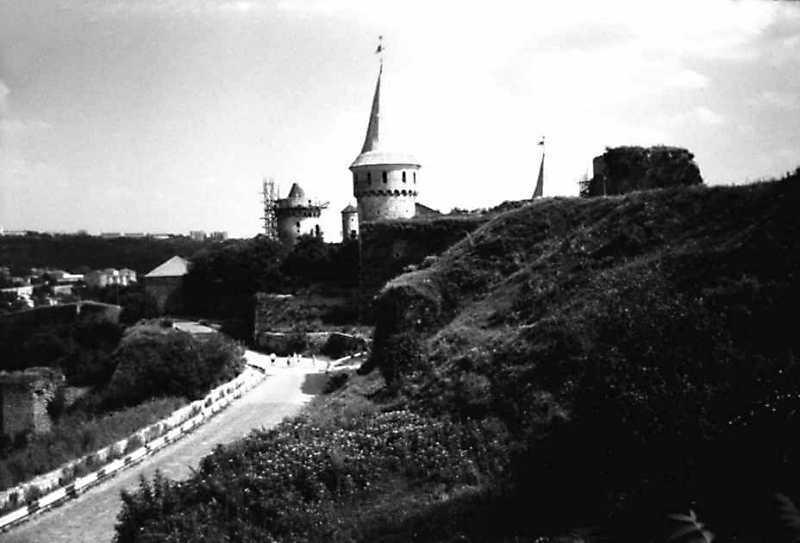 Фрагменти Старого і Нового замків