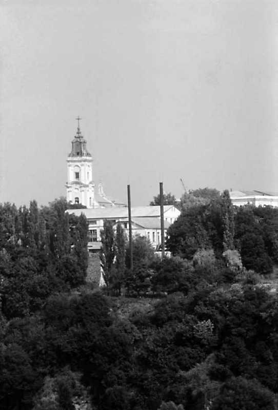 1991 р. Башта домініканського костелу…