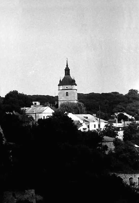 1991 р. Вигляд із заходу в панорамі Старого міста