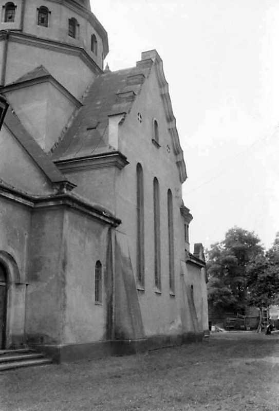 1991 р. Бічний фасад. Вигляд з позиції С3