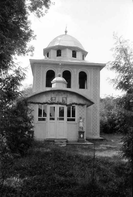 1991 р. Дзвіниця. Вигляд з півдня