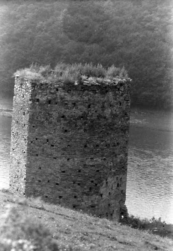 1991 р. Верх башти. Вигляд із заходу