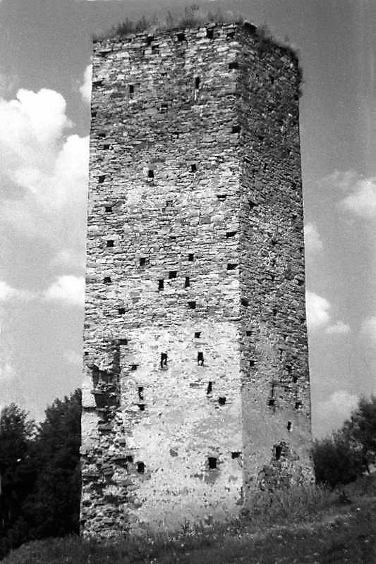 1991 р. Башта. Вигляд з півдня
