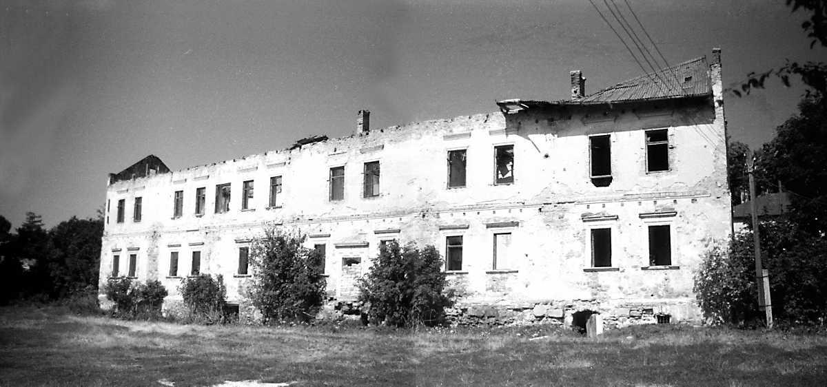 1991 р. Палац 9. Загальний вигляд з південного сходу