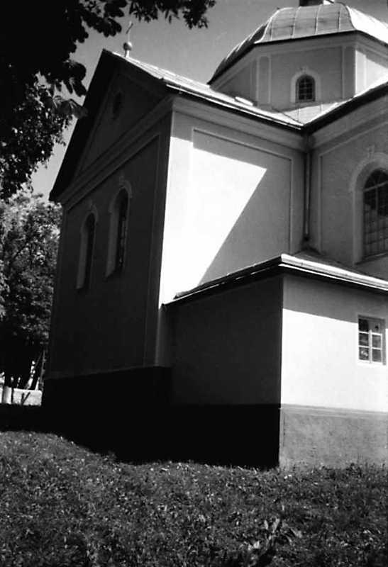 1991 р. Бічний фасад. Вигляд з позиції А2