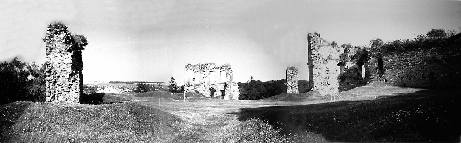 1991 р. Панорама двора із заходу