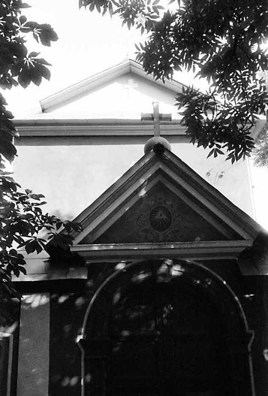 1991 р. Фрагмент західного фасаду