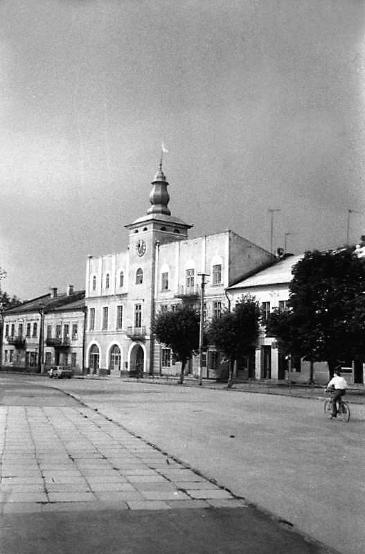 1991 р. Площа Ринок і ратуша