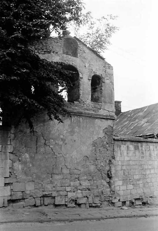 1991 р. Дзвіниця. Вигляд зі сходу