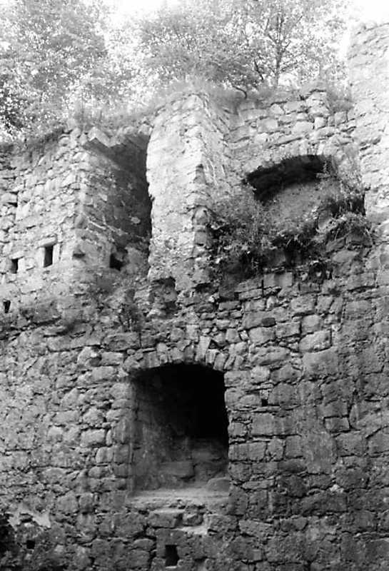1991 р. Фрагмент прясла 7. Вигляд з північного сходу