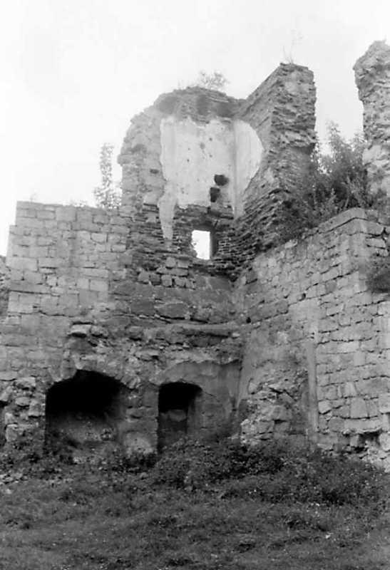 1991 р. Фрагмент башти 11. Вигляд з південного сходу