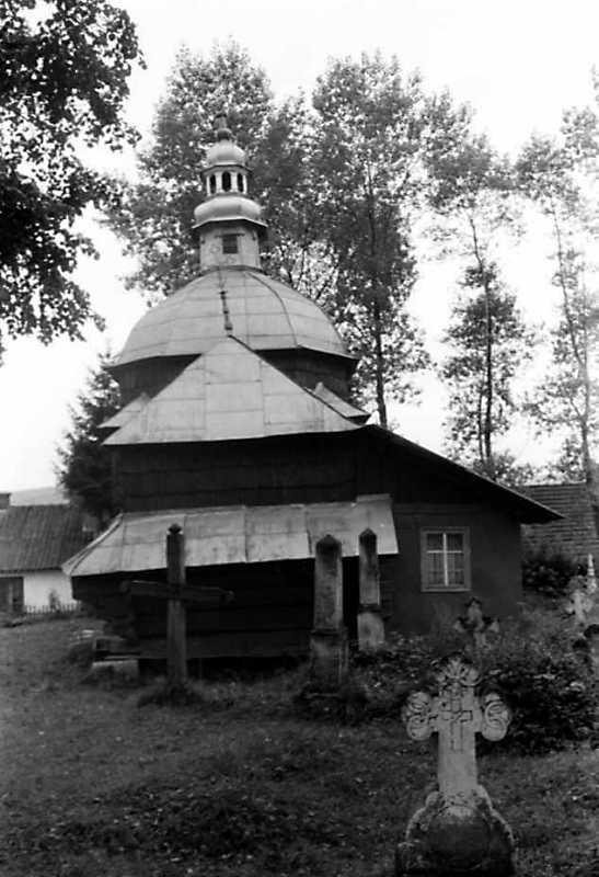 1991 р. Стара церква. Вигляд зі сходу