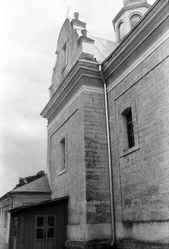 1991 р. Північний фасад у ракурсі.…