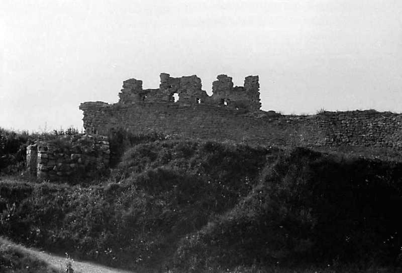 1991 р. Фрагмент північної стіни. Вигляд з півдня