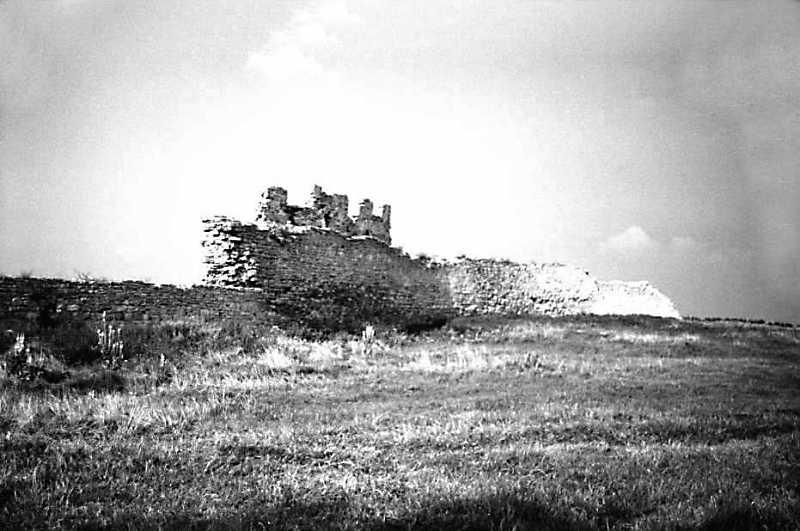 1991 р. Фрагмент північної стіни. Вигляд із заходу