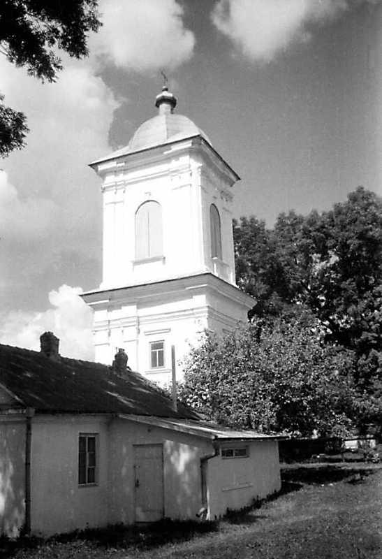 1991 р. Дзвіниця. Вигляд з південного сходу