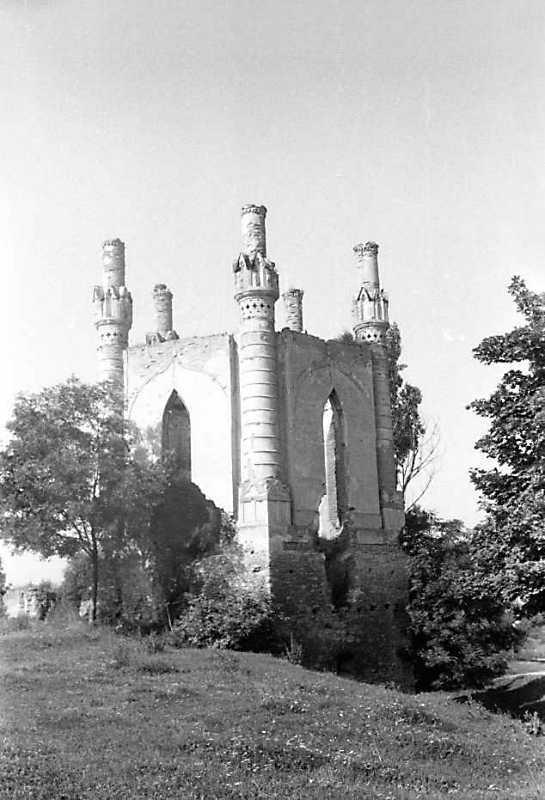 1991 р. Північна башта. Вигляд з північного сходу