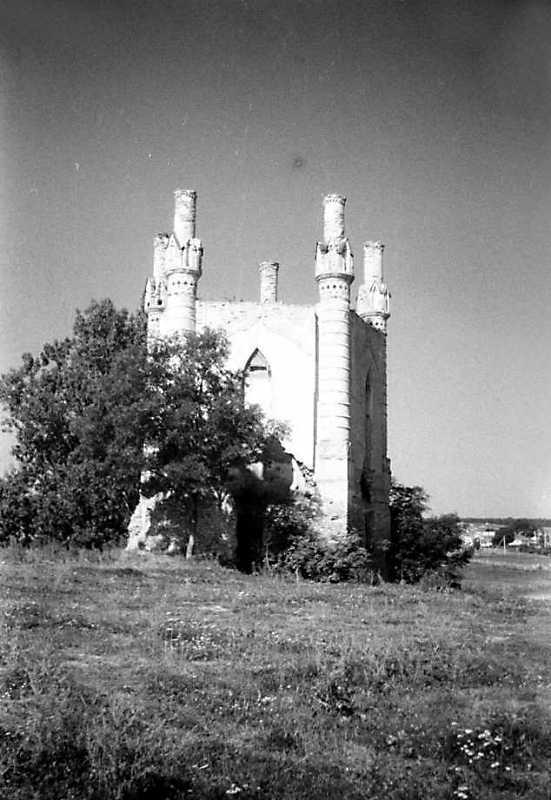 1991 р. Північна башта. Вигляд зі сходу