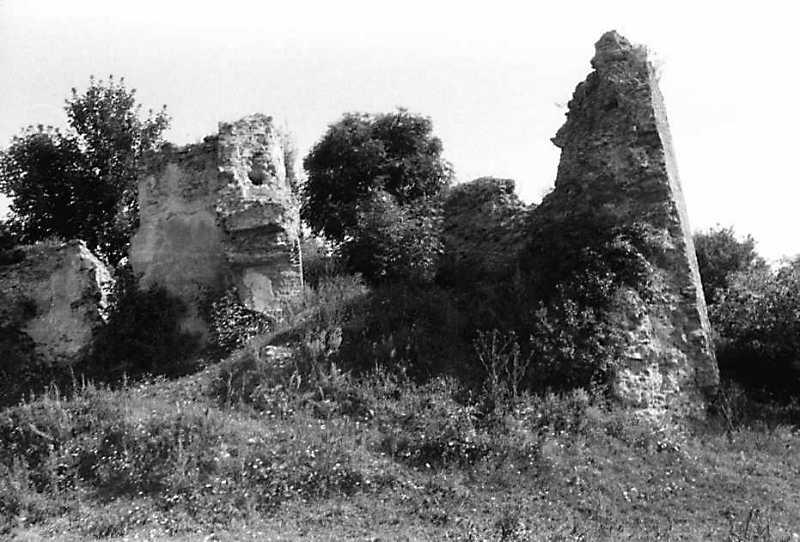 1991 р. Південно-західна башта. Вигляд із заходу