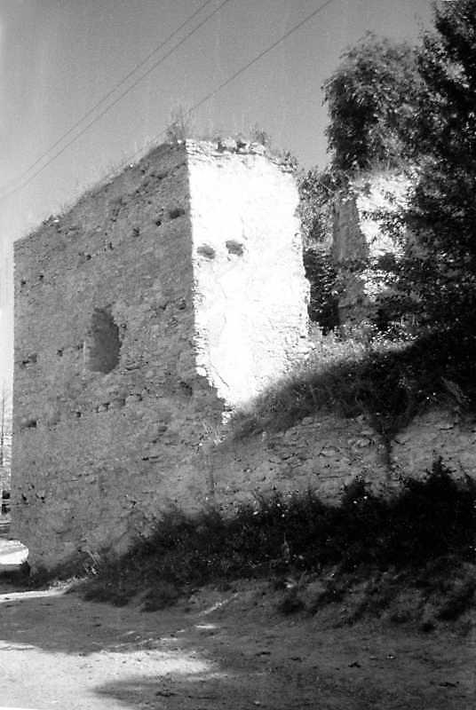 1991 р. Північно-західна башта. Вигляд з південного заходу