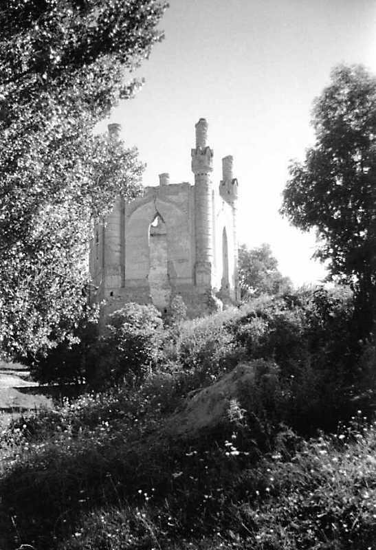 1991 р. Північна башта. Вигляд із заходу