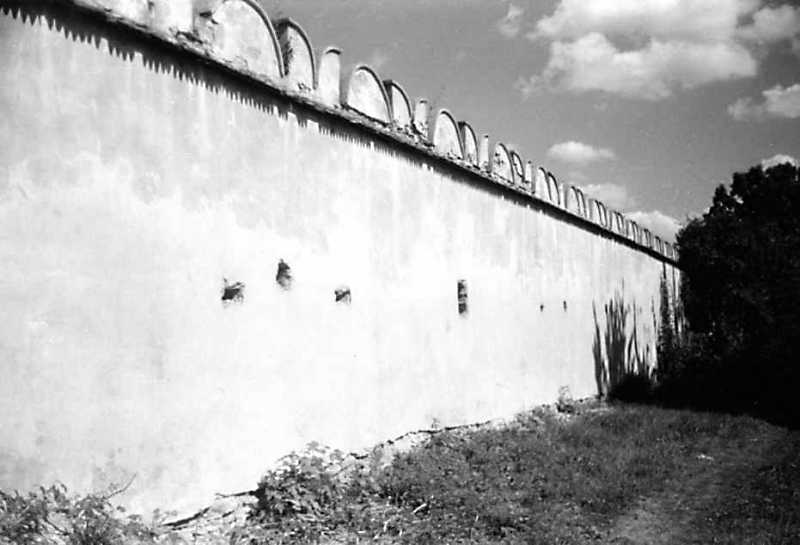 1991 р. Північний мур. Вигляд з…