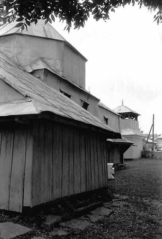 1992 р. Північний фасад. Вигляд з північного сходу