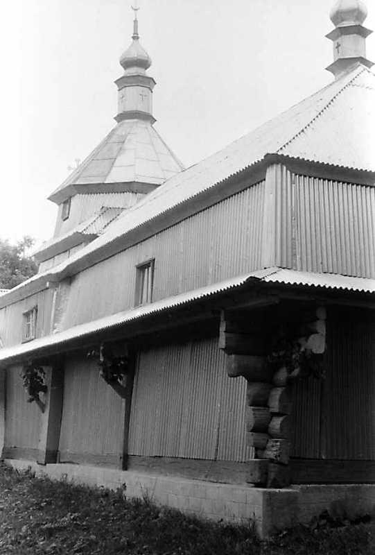 1992 р. Північний фасад у ракурсі. Вигляд з північного заходу