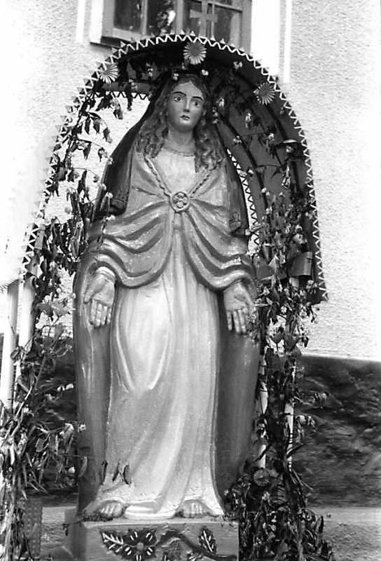 1992 р. Скульптура богородиці