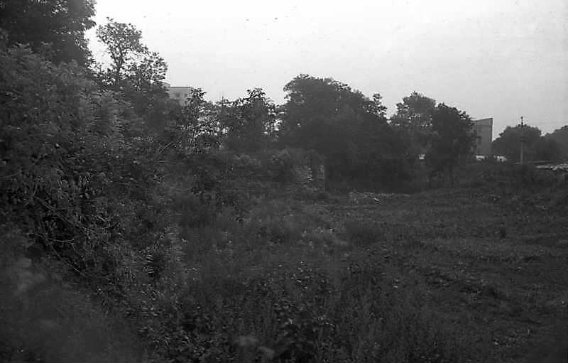 1992 р. Західний фронт замку. Вигляд з…