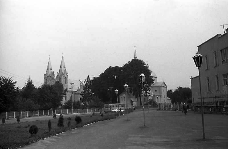 1992 р. Загальний вид центра міста