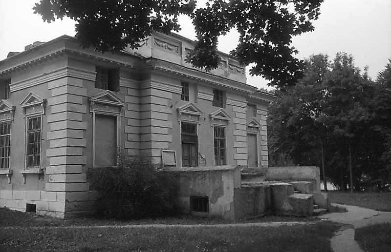 1992 р. Західний фасад. Вигляд з північного заходу