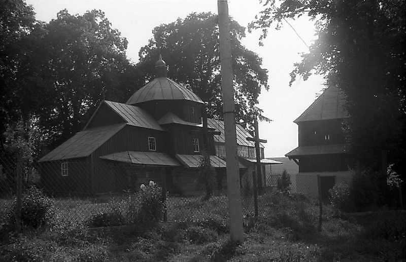 1993 р. Церква і дзвіниця. Вигляд з…